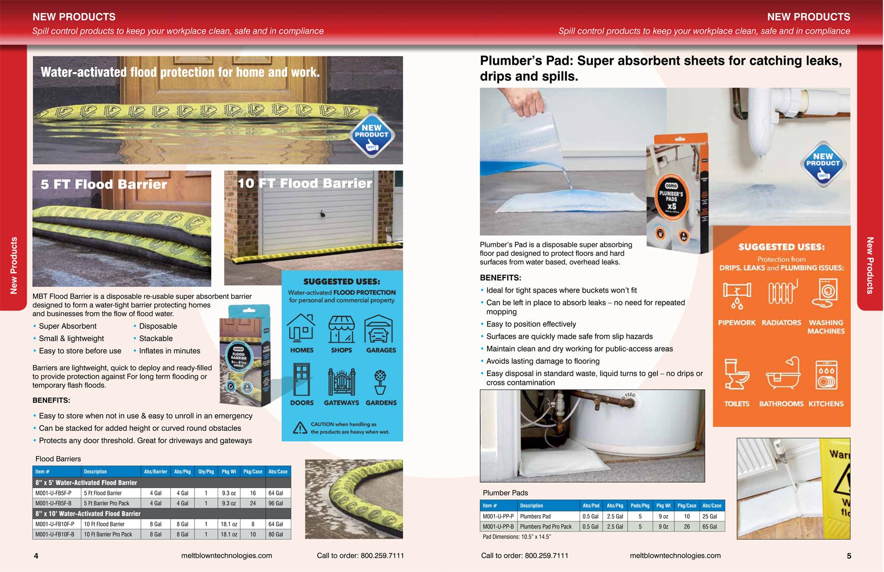 MBT product catalog